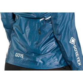 GORE WEAR R7 Gore-Tex Shakedry Trail Chaqueta con capucha Mujer, pacific blue
